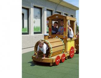 train eliott - locomotive - 3/6 ans