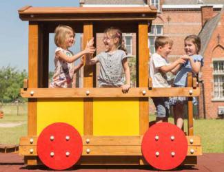 train eliott - wagon passagers - 3/6 ans