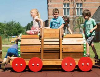 train eliott - wagon citerne - 3/6 ans
