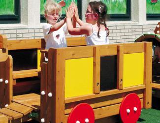 train eliott - wagon restaurant - 3/6 ans