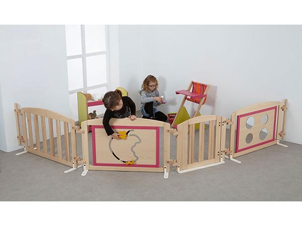 barriere decorative simple acodis devis lits de cr che. Black Bedroom Furniture Sets. Home Design Ideas
