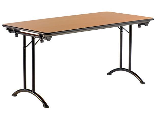 Table celia 120 x 80 acodis devis tables collectivit s - Table pliante 120 x 60 ...