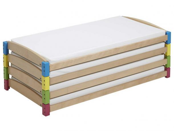 lit modulaire 120 x 60 acodis devis lits de cr che et. Black Bedroom Furniture Sets. Home Design Ideas