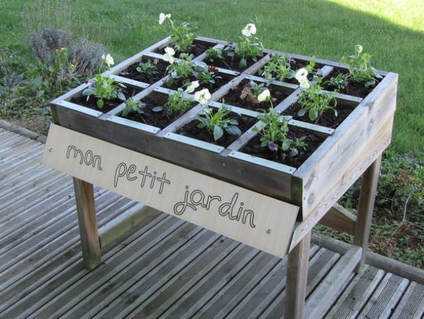 table de culture mon petit jardin acodis devis bac sable gratuit en ligne. Black Bedroom Furniture Sets. Home Design Ideas