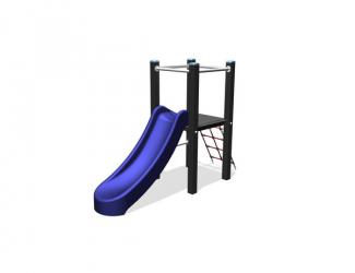 structure toboggan boston - 3/8 ans