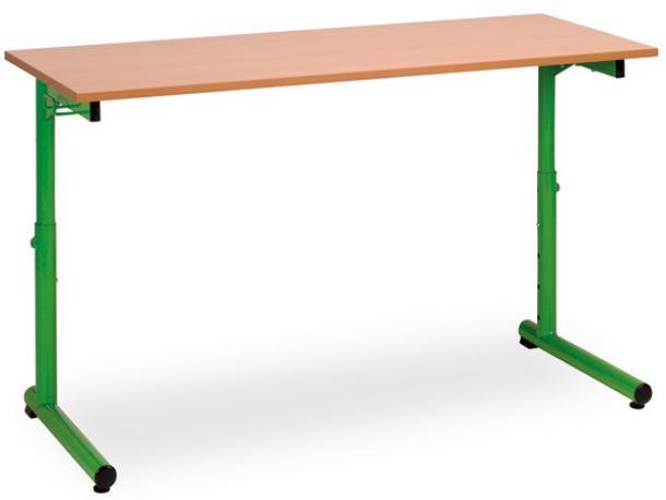 table studio reglable 2 places t3 a t7 : acodis, devis bureaux de