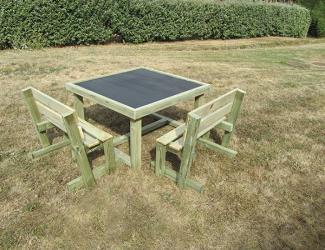 table + bancs lizard - 8 pl