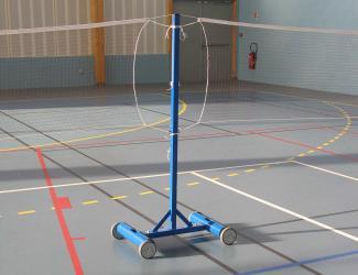 poteau central badminton
