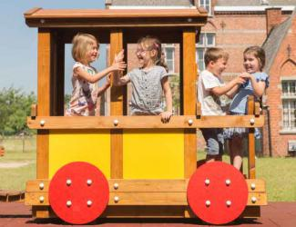 train eliott - wagon passagers - 3/6 ans