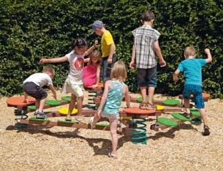 jeu ressorts swing - poly - multipl - 4/15 ans