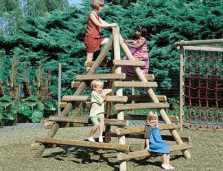 pyramide de grimpeur edna - 4/10 ans