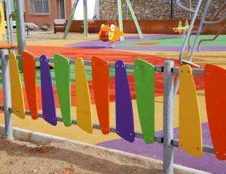 cloture de parc erable l 2m- lisses et barreaux