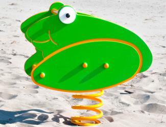 jeu ressorts 2 joues grenouille - 1 pl -1/12 ans