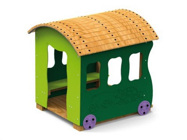 train orient express wagon cabane - 1/ 12 ans