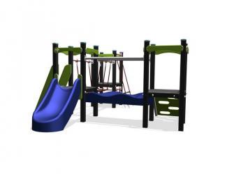 structure seattle en plastique recyclé - 1/6 ans