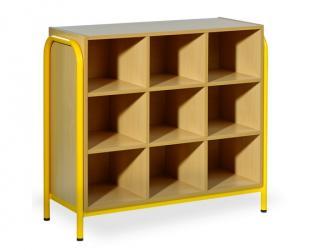 armoire 9 cases