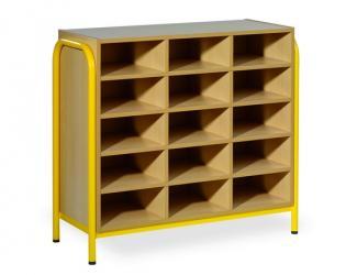 armoire 15 cases