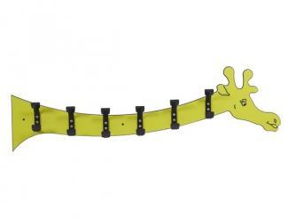 patere girafe 6 crochets