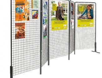 grille d'exposition artdeco - l 1 x h 2 m