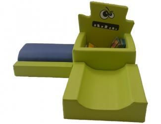les ptis monstres module 1 vert/bleu