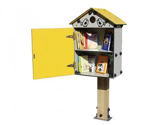 cabane à livres pour enfants