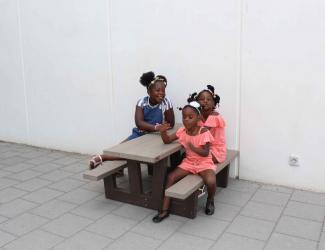 table pique nique kids gp71-120 en plastique recycle