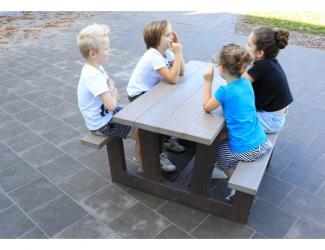 table pique nique junior gp72-120 en plastique recycle