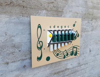 """panneau musical mural """"xylophone"""""""