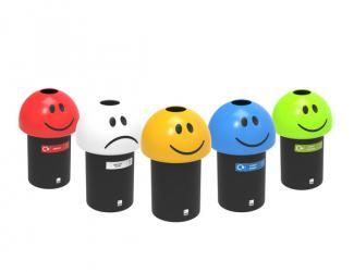 corbeille de tri selectif emoji