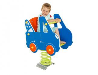 """jeu sur ressort """"le camion"""" - 3/8 ans"""