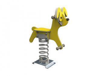 """jeu sur ressort """"le chien"""" - 3/8 ans"""