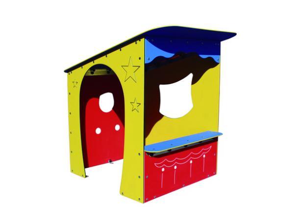 """cabane """"théâtre de marionnettes"""" accessible à tous - 1-12 ans"""