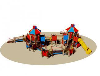 structure de jeu accessible a tous - pmr - 2/12 ans