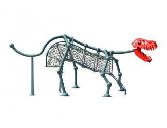 le dinosaure - acier - 5/12 ans