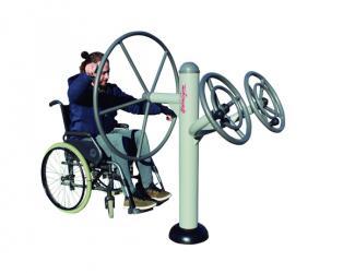 fitness volant et roues a bras - pmr
