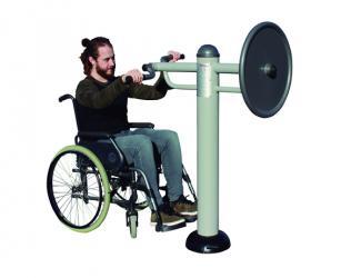 fitness pedalier et volant a bras - pmr