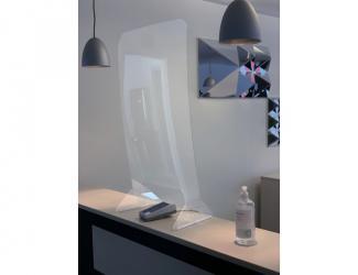 vitre de protection mobile - 805x475x275 mm
