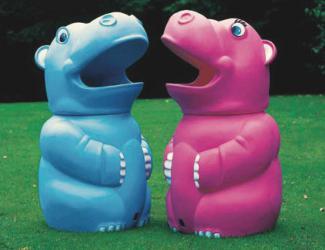 corbeille hippo - 70 l