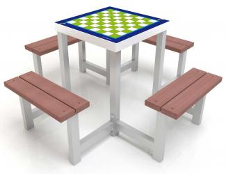 table jeux 4 ou 2 places - pmr