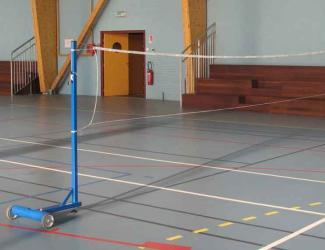 poteau depart badminton (la paire)