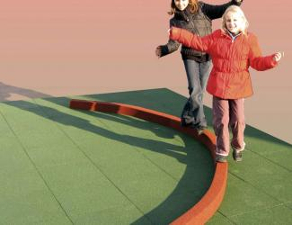 poutres d'equilibre farandole - lot de 3 - 3/10 ans