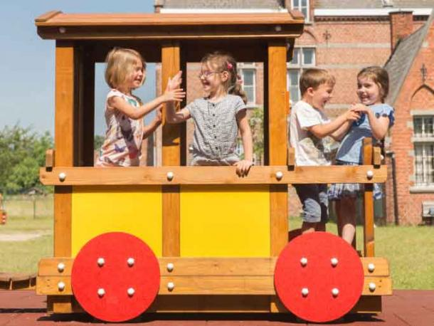 train eliott - wagon passagers - 2/8 ans