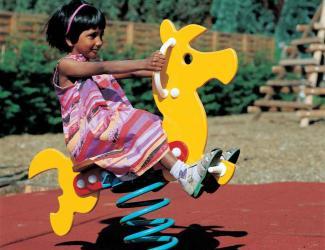 jeu ressort poney - poly - 1 pl - 2/6 ans