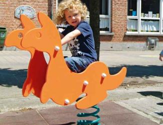 jeu ressort kangourou - poly - 1 pl - 2/6 ans