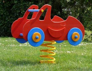 jeu ressorts 2 joues voiture bumbo - 1 pl -1/12 ans