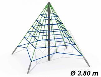 pyramide araignee gypsie ø4,50 m  - 3/14 ans