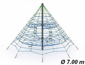 pyramide araignee gypsie ø7 m - 4/16 ans