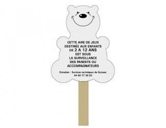 panneau d'information animal complet