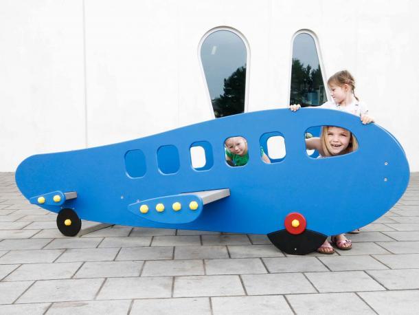 avion jumbojet gp50 plastique recycle govaplast 1/12 ans