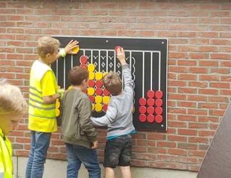 puissance 4 géant mural ludique tout age